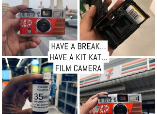 Have a break have a Kit Kat film camera