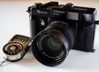 Fujifilm GW690II Professional and Weston Master IV light meter
