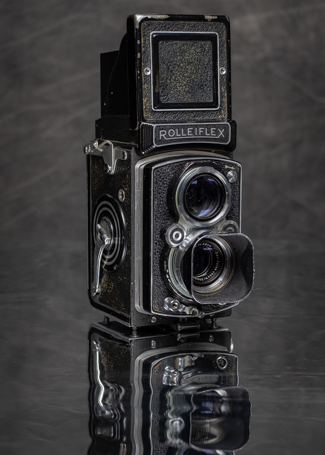 My favorite camera to shoot today - 1949 Rolleiflex
