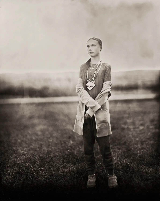 Greta Tintin Eleanora Ernman Thunberg  - Standing for us all