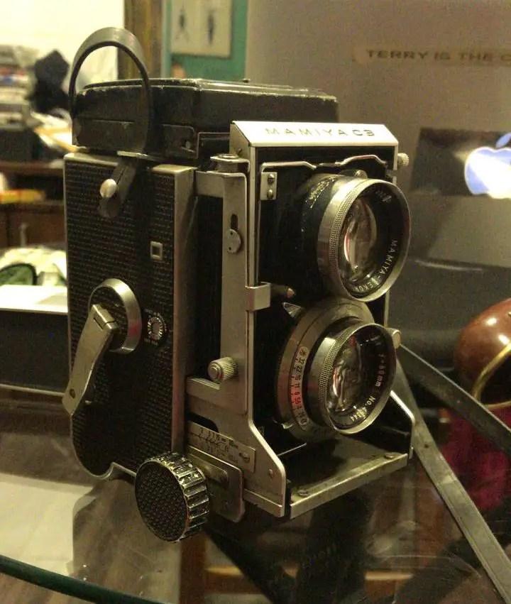Mamiya C3 and Mamiya-Sekor 80mm f/2.8