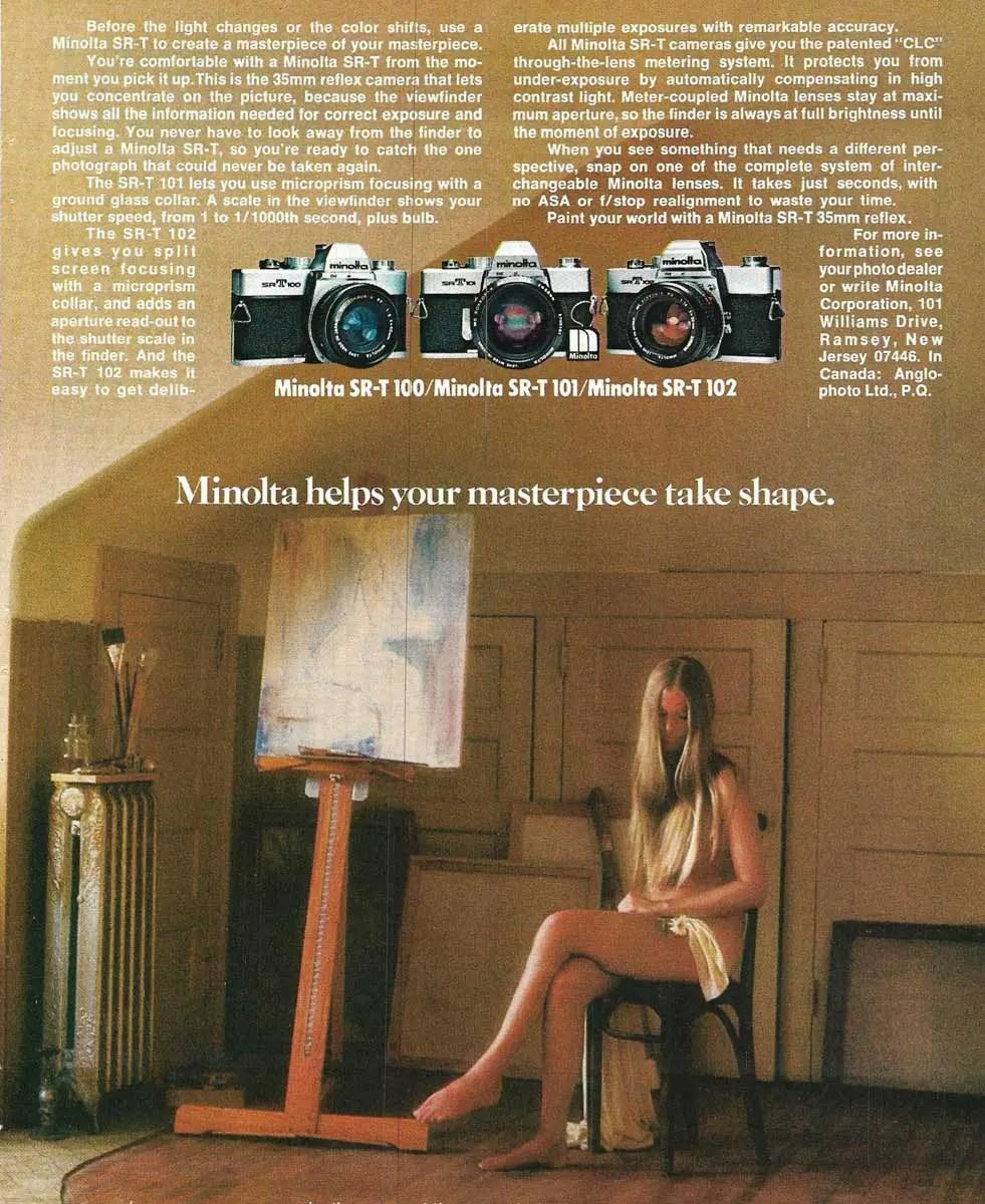 Minolta SR-T 100 + SR-T 101 + SR-T 102