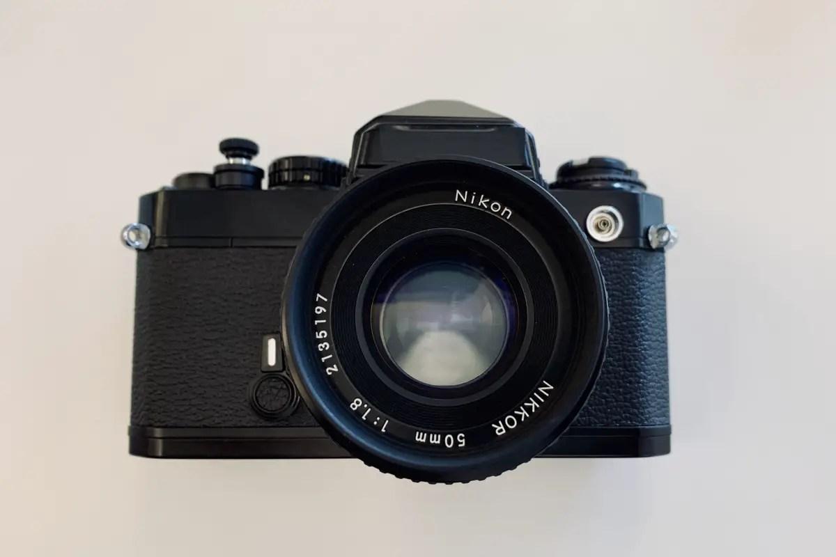 Nikon FE and Nikkor 50mm f/1.9 AI lens - Jermaine Reyes