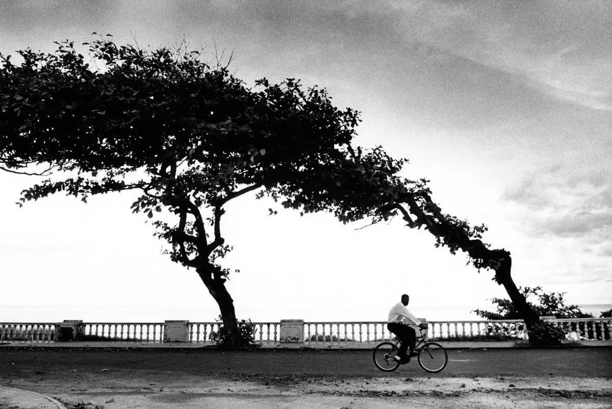 Bicycle ride - ILFORD HP5 PLUS, Olympus OM-4 Ti, São Tomé and Príncipe, 2000