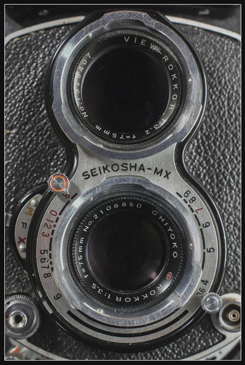 Minolta Autocord lenses