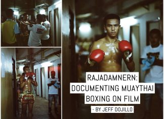 Rajadamnern: Documenting Muaythai boxing on film