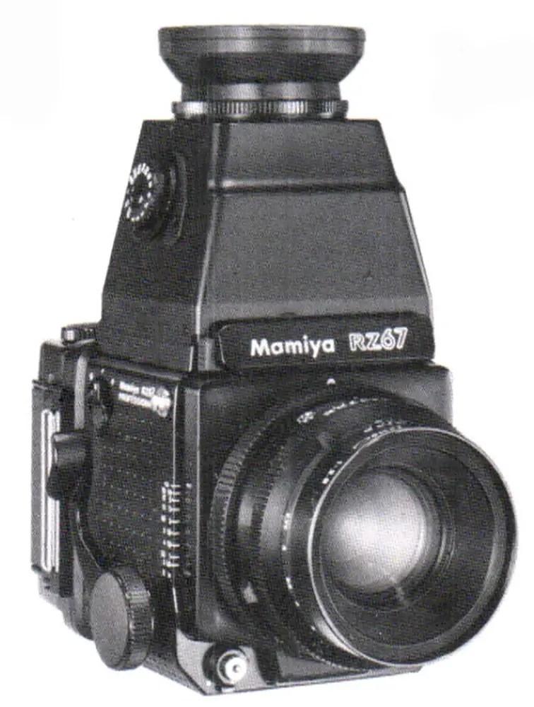 Mamiya RZ67 - AE magnifying hood