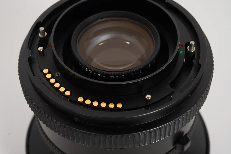 Mamiya Z 37 mm f/4.5 with rear filter installed