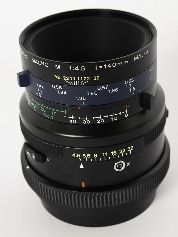 Mamiya Sekor M 140mm f/4.5 M/L-A Macro (FLE)