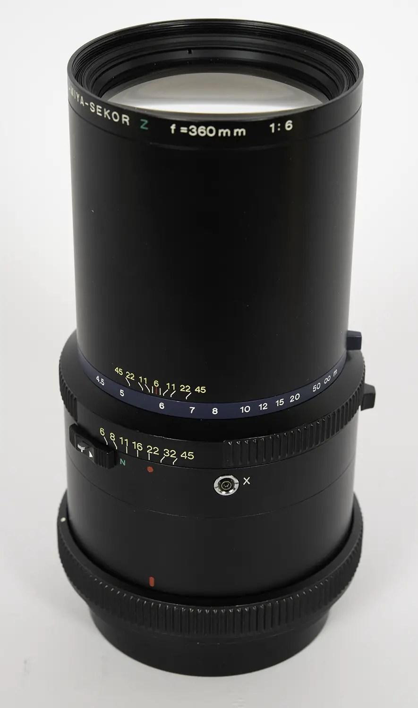 Mamiya Sekor Z 360mm f/6.0
