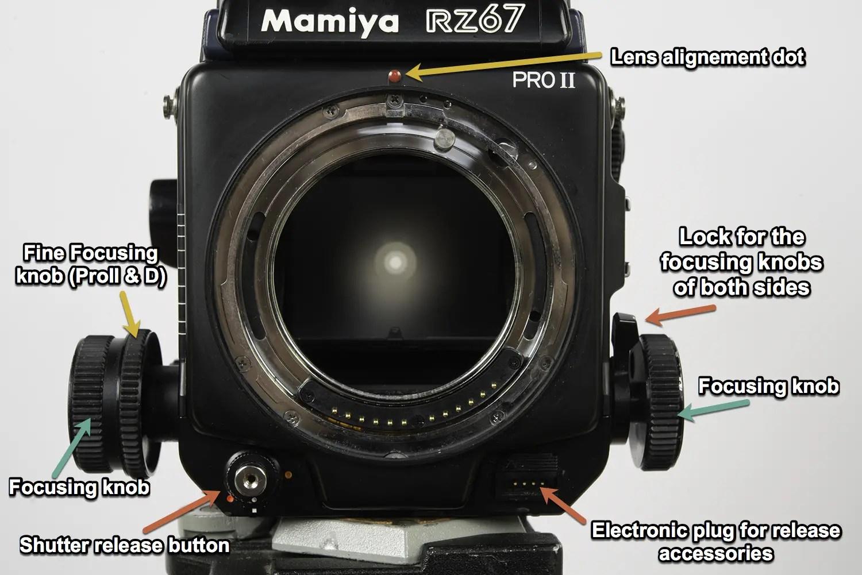 Mamiya RZ67 Professional II - Front