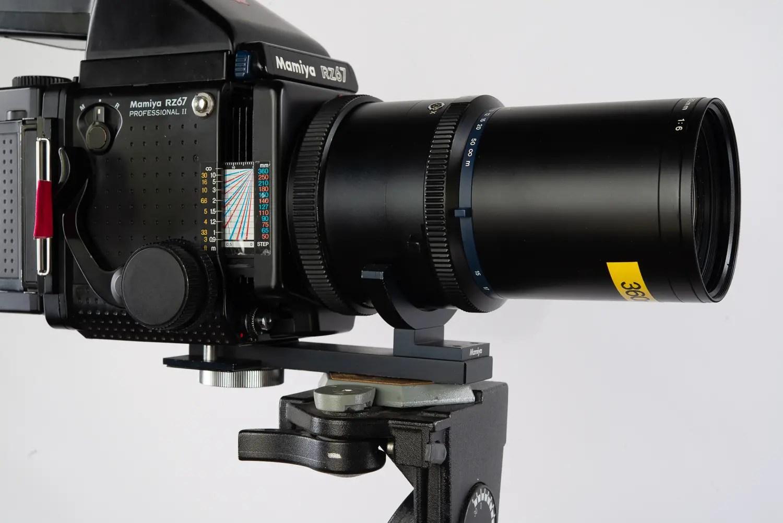 Mamiya Z 100-200mm lens support bracket