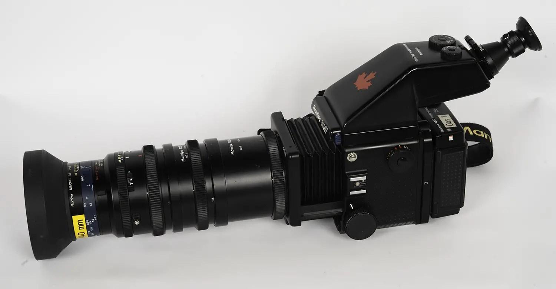 Mamiya RZ67 and 140mm Macro lens plus extension tubes No.1+2