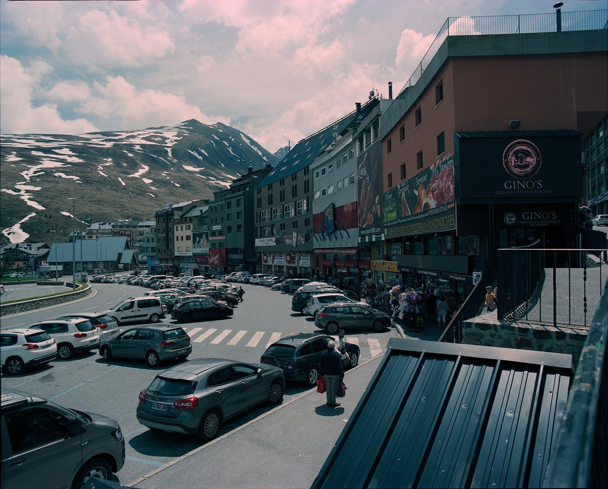 Mamiya RZ67 Professional - 50mm, Kodak Portra 160, Pas de la Case (Andorra)
