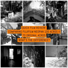 Comparing Fujifilm NEOPAN 100 ACROS II to original ACROS. What's the difference?