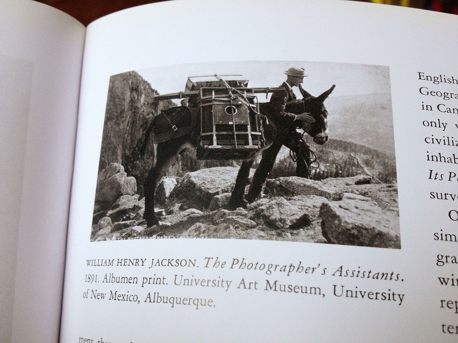 Beaumont Newhall's History of Photography (page 103)