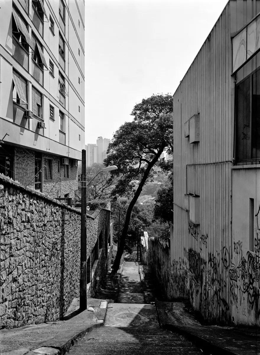 Stairways, São Paulo, 30x40cm negative.