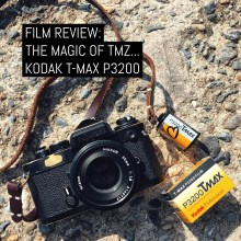 Cover: Film Review - The magic of TMZ... Kodak T-MAX P3200