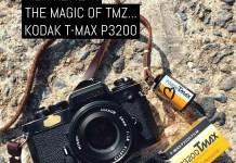Cover: Film Review - The magic of TMZ... Kodak T-MAX P3200