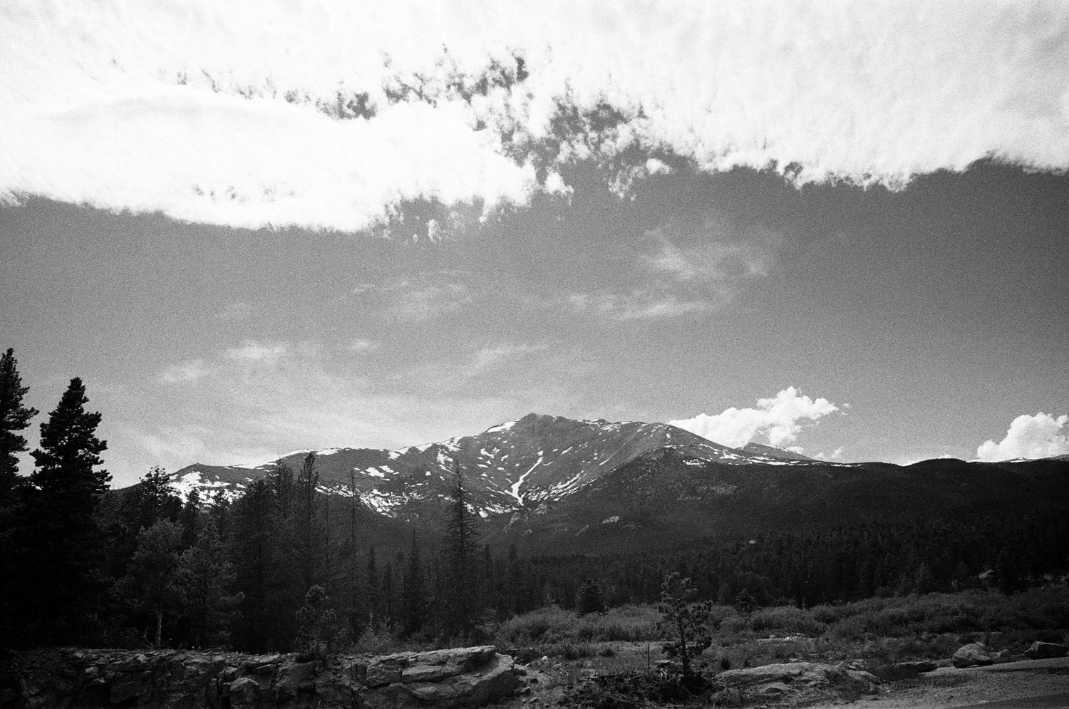 Figure 4 - Mt Meeker, ILFORD SFX 200