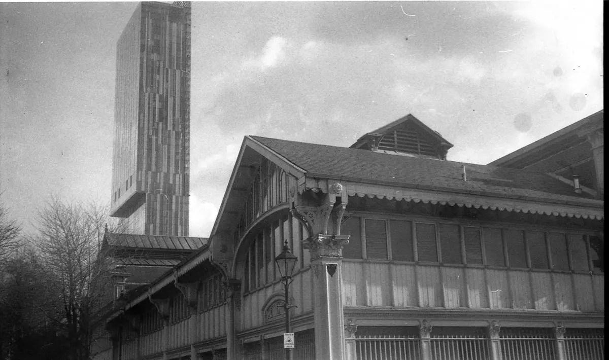 Kodak Verichrome frame 8 - Beetham Tower