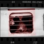 5 Square Frames - Cropped from 35mm films - by Simon King