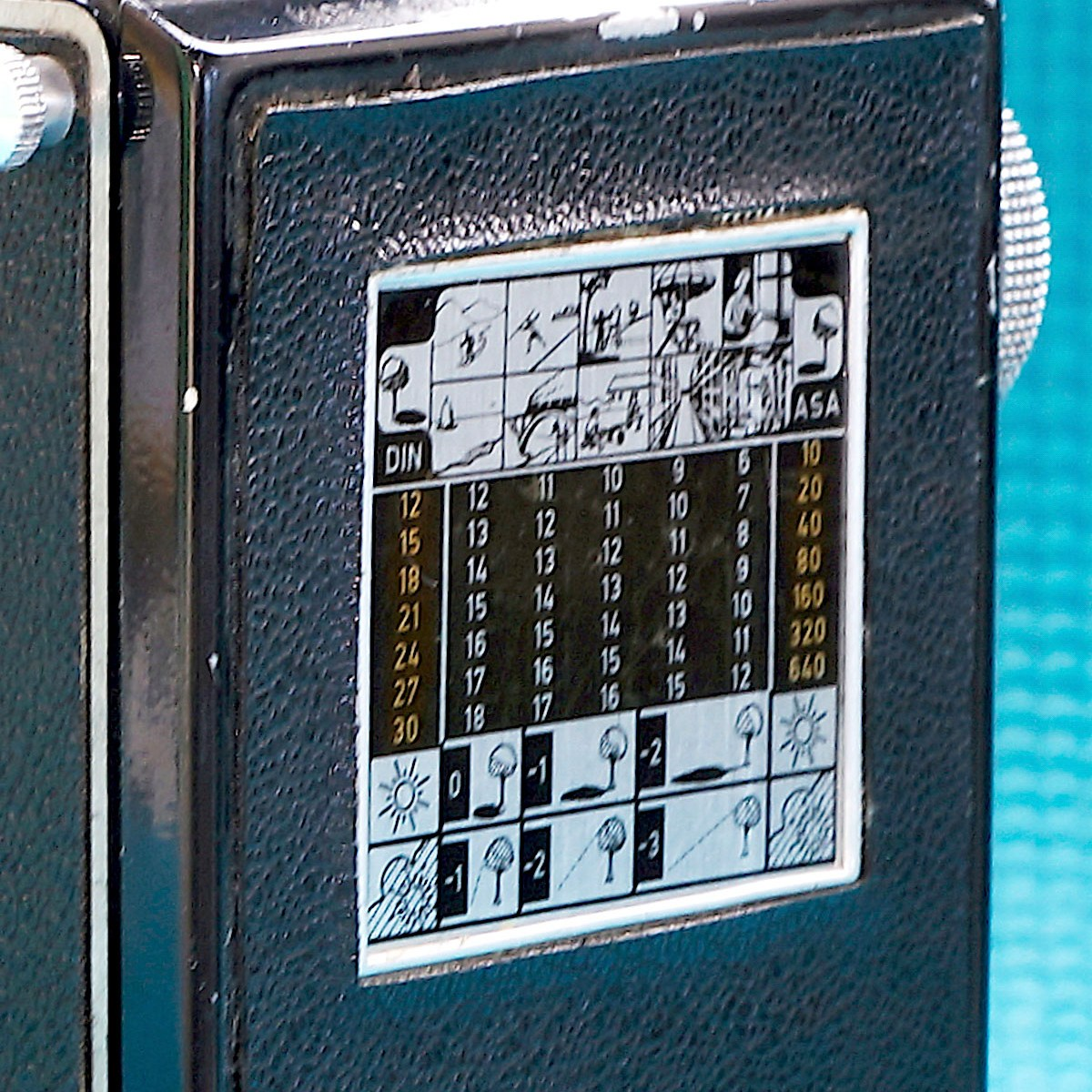 Flexaret exposure table