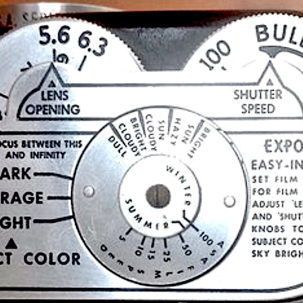 Exposure guide - Viewmaster