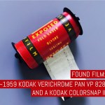 Found Film: ~1959 Kodak Verichrome Pan VP 828 film and a Kodak Bantam Colorsnap II