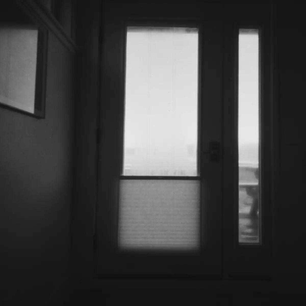 Doors and Windows - 5 Frames With... ILFORD PAN F PLUS (EI 50 / 120 format / Vermeer 6x6 Pinhole) - by María Ochoa