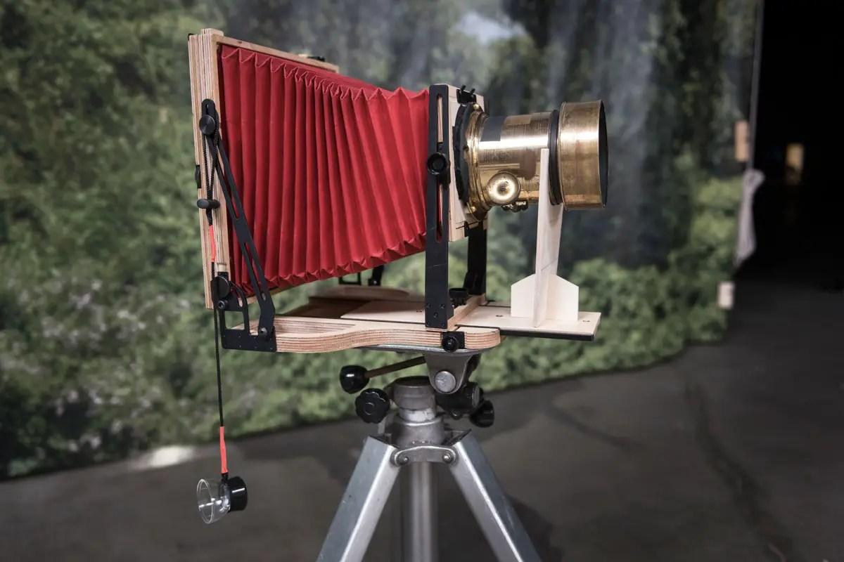 """Intrepid 8x10 with Dallmeyer Dallmeyer 3B 11"""" (292mm) f/3 brass Petzval lens"""