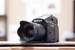 My Mamiya 645 AFD