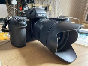 My Nikon F100 and Sigma 35 ART lens