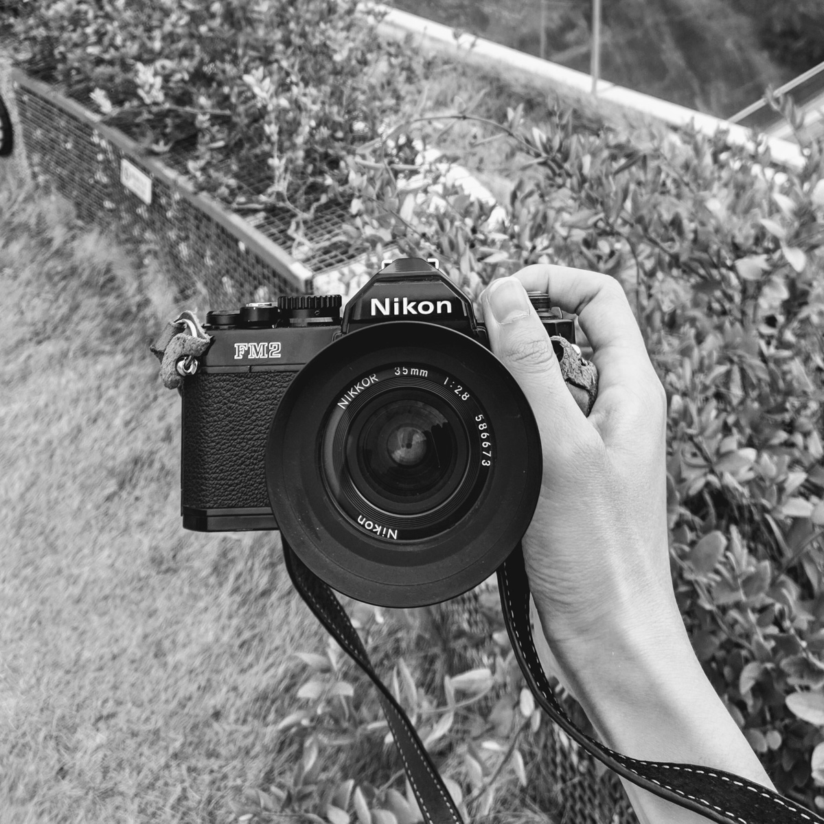 My Nikon FM and Nikkor 35mm f/2 lens - Nick Lumber