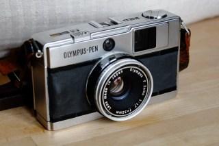 My Olympus Pen EED with F. Zuiko 32mm f/1.7 lens