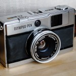 My Olympus Pen EED with F. Zuiko 32mm f/1.7 lens