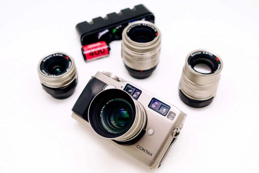 Contax G1. Image credit: Japan Camera Hunter.