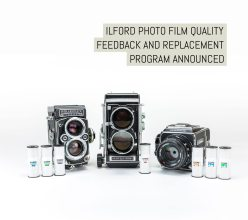 ILFORD Photo film quality feedback and replacement program announced