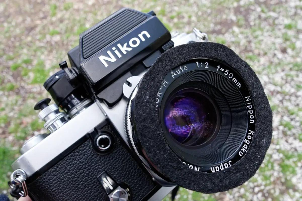 Lens protection - Felt ring