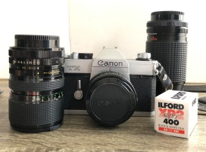 My Canon TX and ILFORD XP2 Super