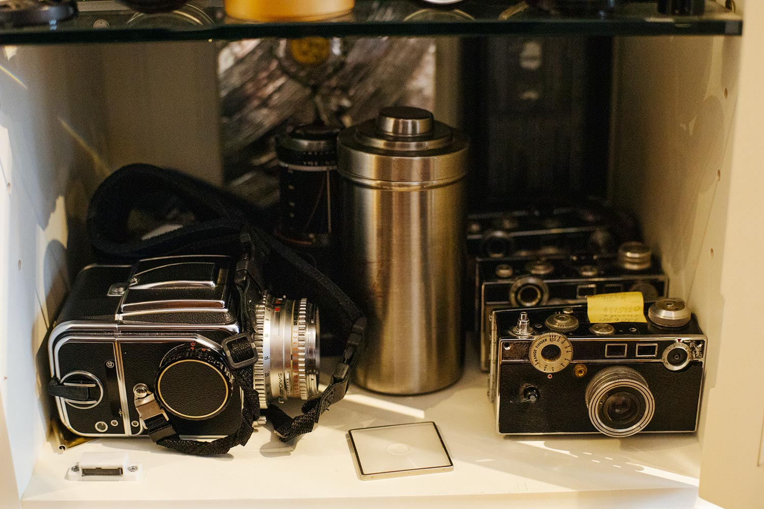 Tony Vaccaro's World War II Argus and (slightly newer) Hasselblad