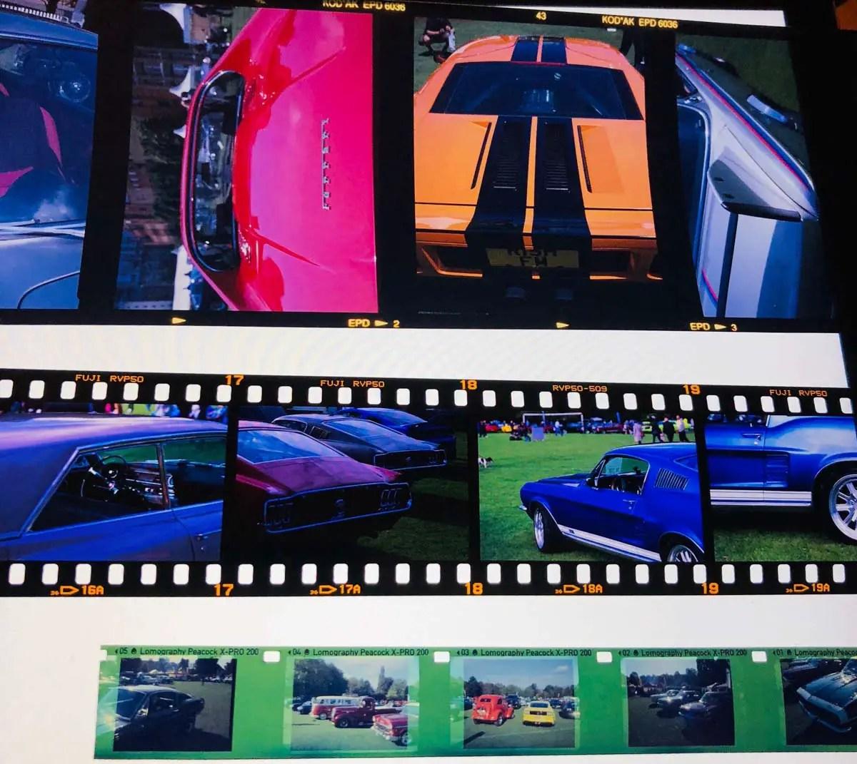 120 format, 35mm format and 110 format slides!
