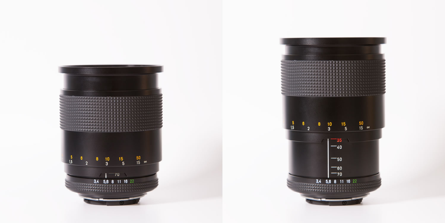 Carl Zeiss Vario-Sonnar 35-70mm f/3.4 in action