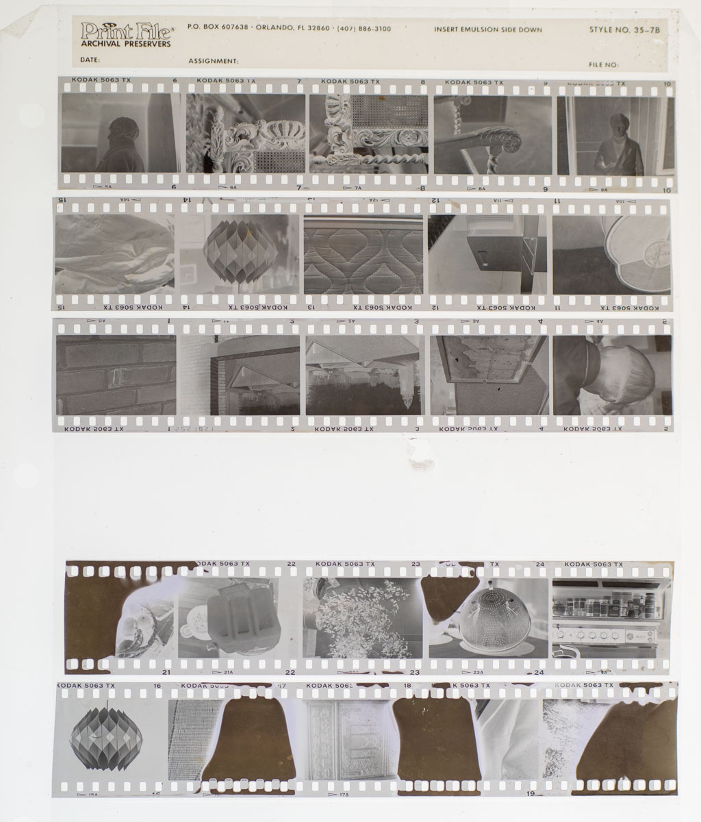 Contact sheet from my first roll… Of 35mm film (Kodak Tri-X 400) - Gregory W Brown 2