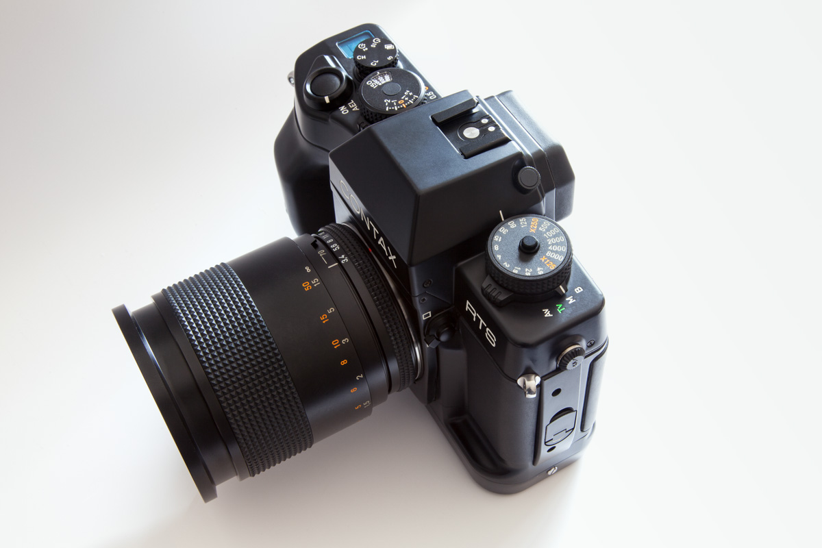 Contax RTS III - Front left