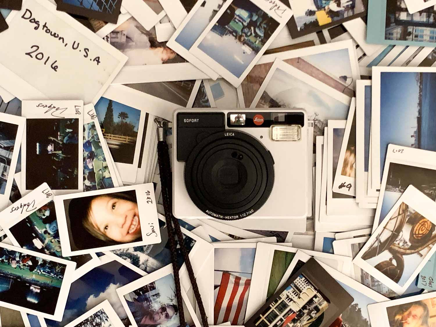Instax - Leica Sofort. Image Credit: Edward Conte