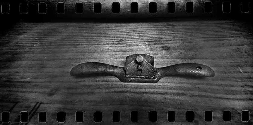 John Scarbro - Spokeshave, ILFORD FP4 PLUS and Kodak HC-110, Ondu 135 Pano.