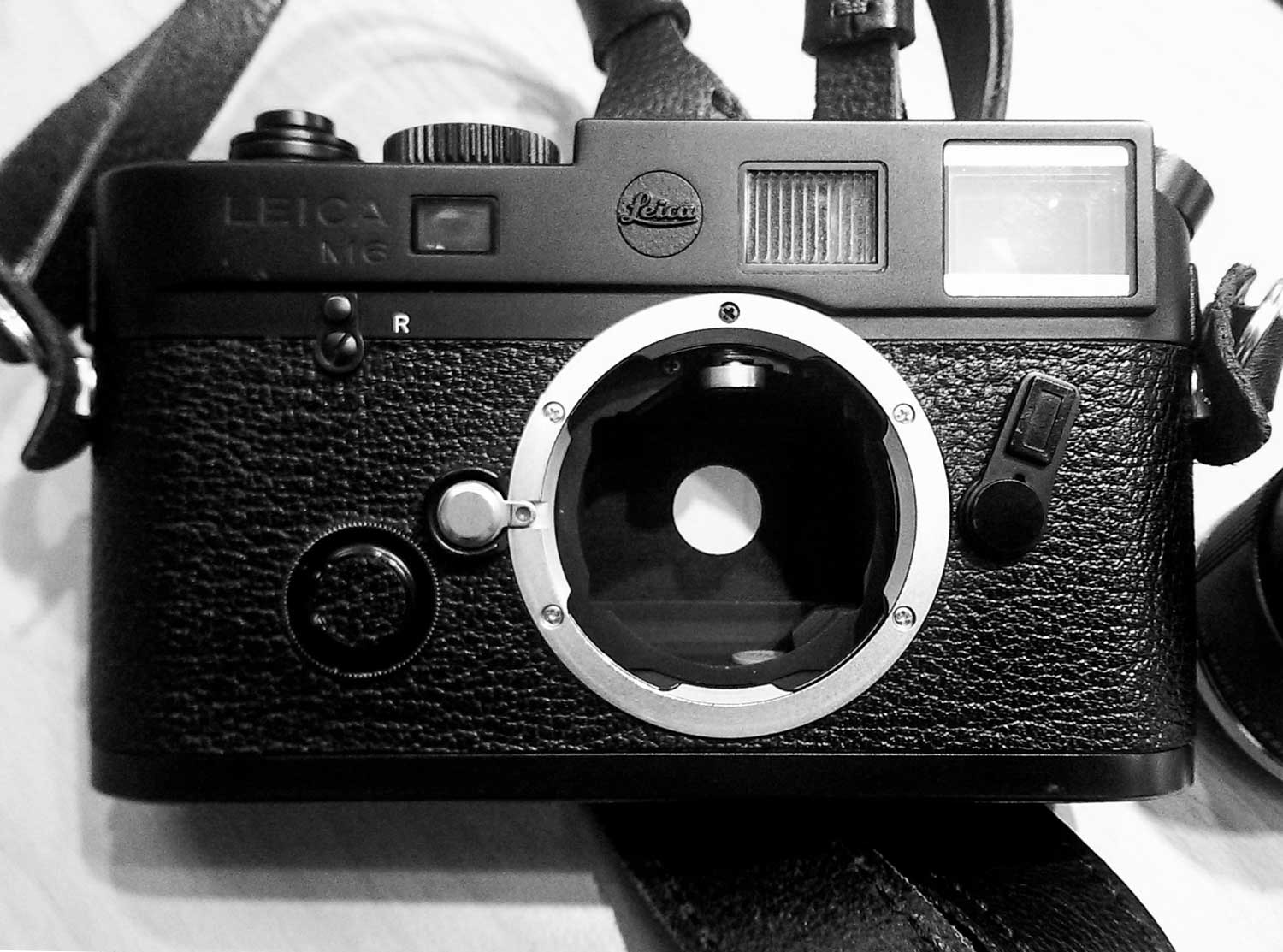 Leica M6 TTL 0.85 all blacked out