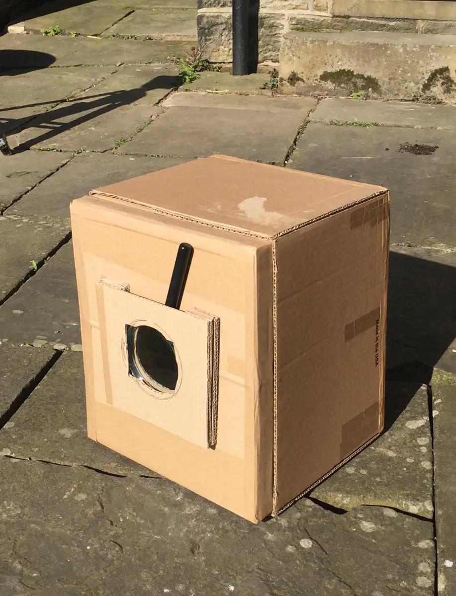 Simple homemade box camera