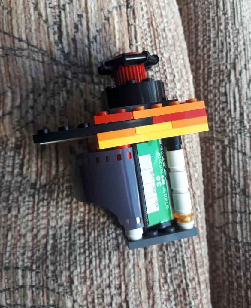 35mm LEGO Pinhole full film winding mechanism